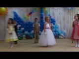 Выпускной вечер в детском саду у Димульки. Танец